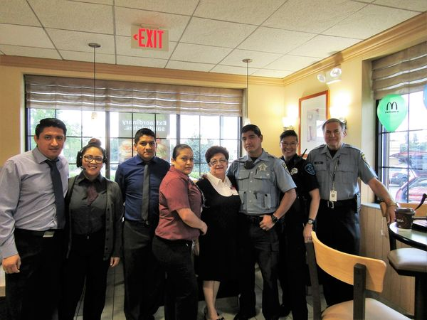 Coffee with a cop -Bloomingdale