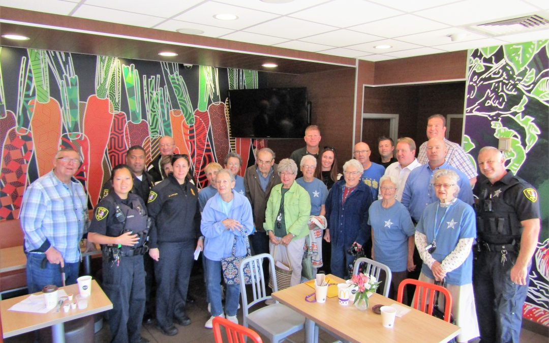 Coffee with a Cop Elgin 9-6-2017