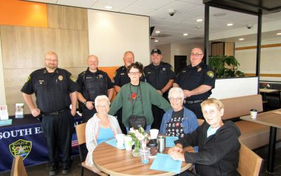 Coffee With A Cop South Elgin McDonald's 10/20/2017