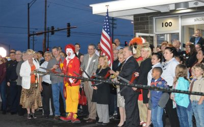 South Elgin McDonald's Grand Re-Opening Ribbon Cutting & VIP Party