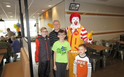 South Elgin Ronald McDonald Magic Show 10/28/2017