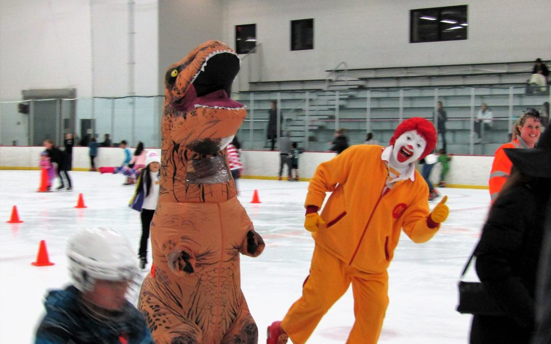 Ronald McDonald Hoffman Estates Park District Great Pumpkin Skate 10/29/2017