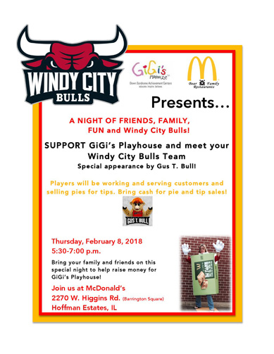 Windy City Bulls Event 2/8/2018