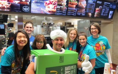 Nelson Elementary McTeacher's Night 1/18/2018