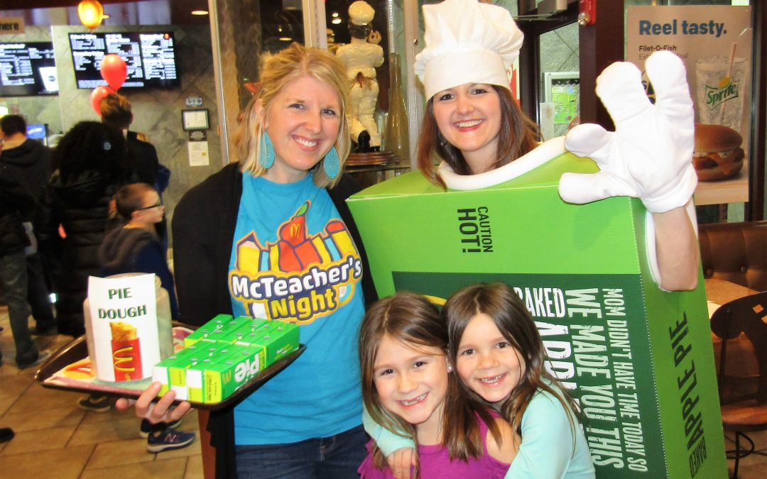 South Elgin McDonald's Host Corron Elementary for Annual Fundraiser
