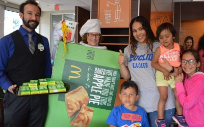 3rd Time is a Charm for Euclid Elementary at the Mount Prospect McDonald's