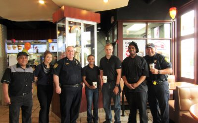 South Elgin Coffee With A Cop 6-20-18