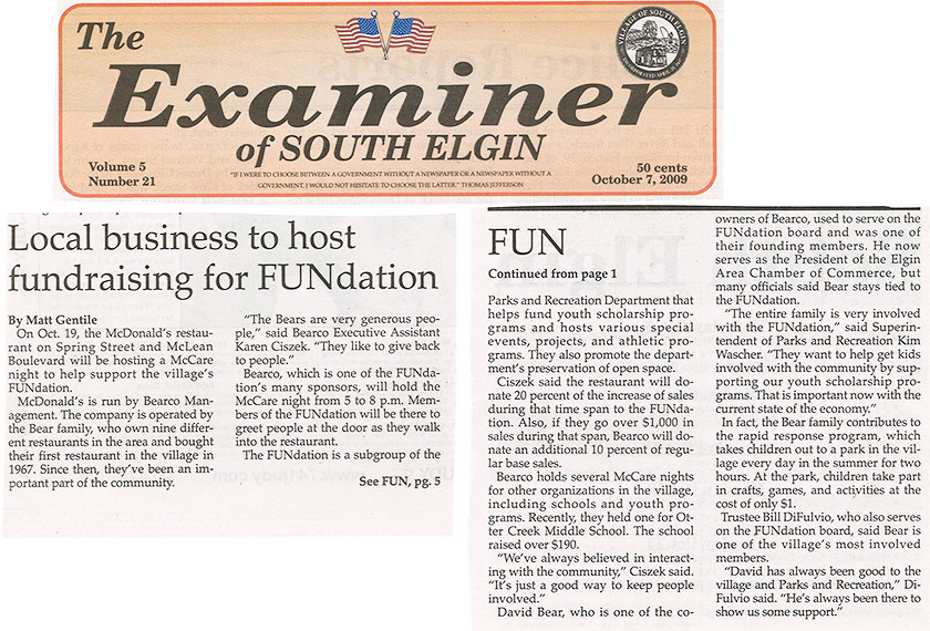 Local Business to Host Fundraiser for FUNdation
