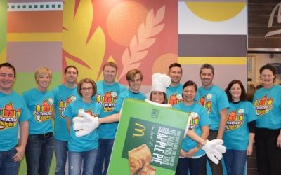 Barrington Square McDonald's Hosts McTeacher's Night