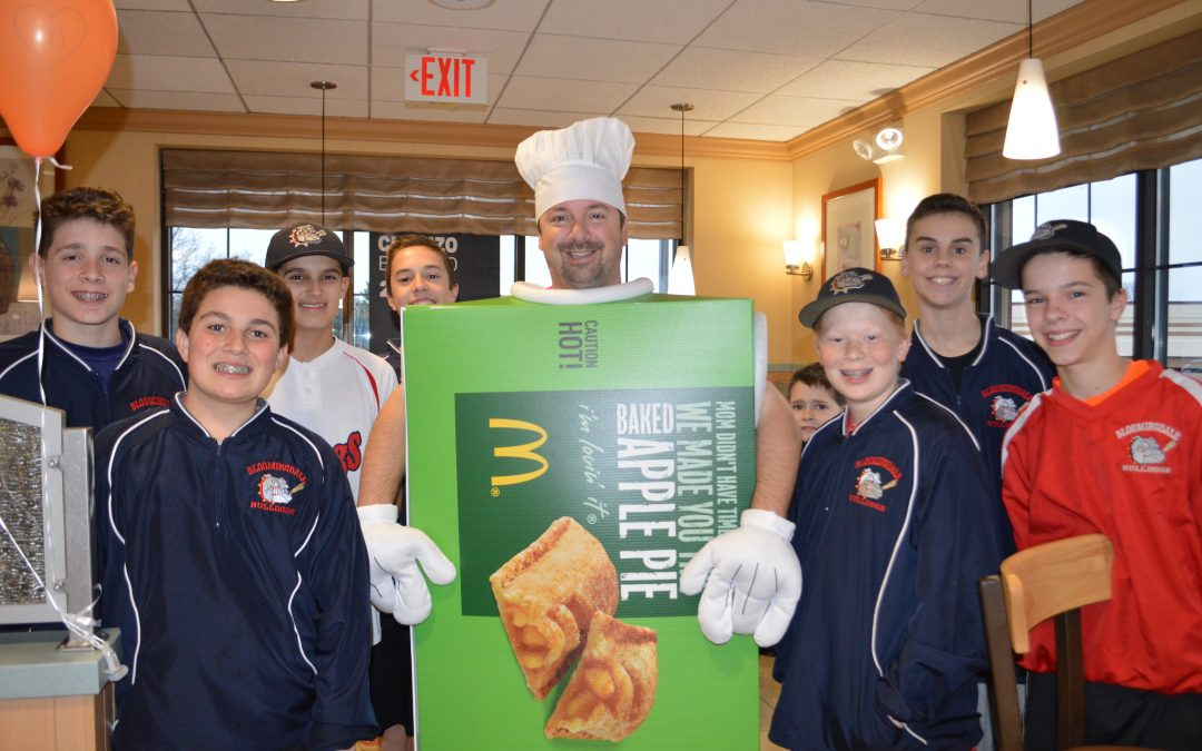 Stratford Square McDonald's Hosts Fundraiser for Bloomingdale Bulldogs 13U Team