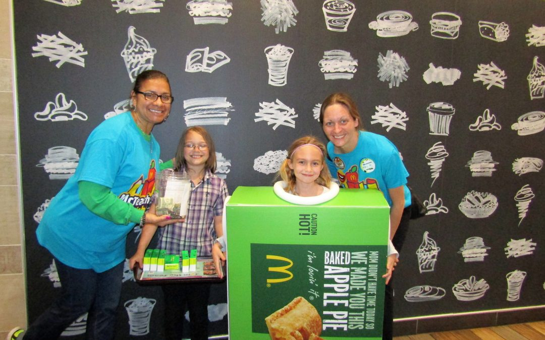 Heritage Elementary School McTeacher Night