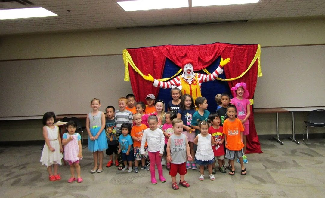 Bloomingdale Library Ronald Show 8/17/17