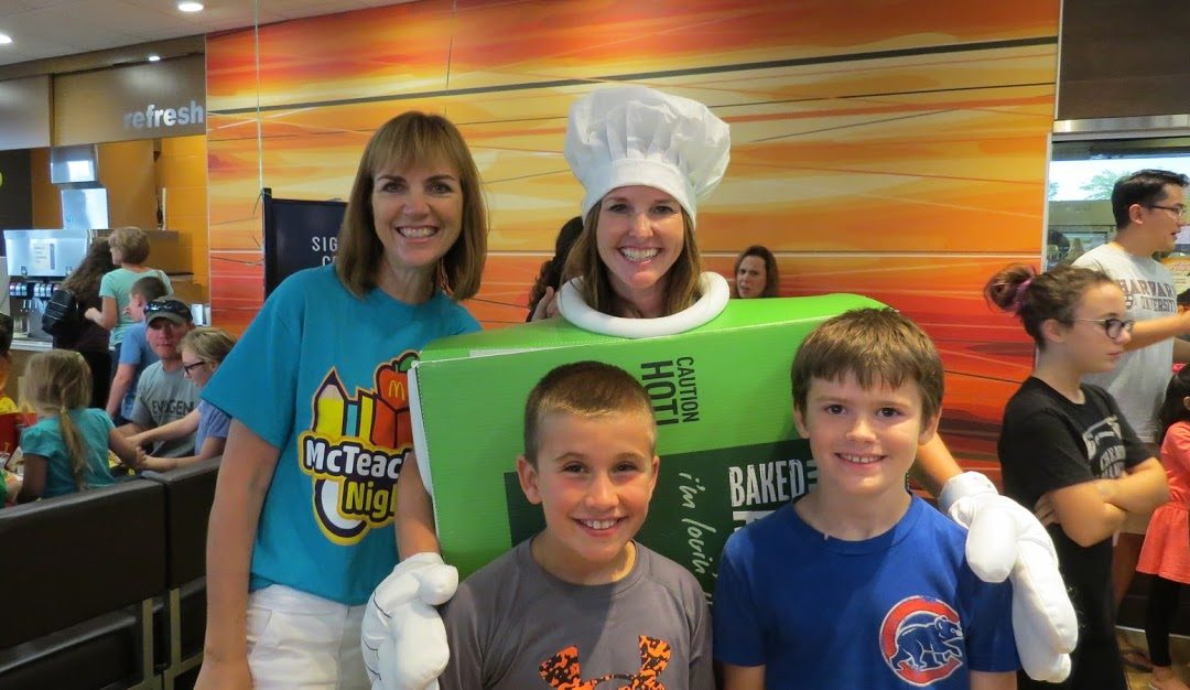Longfellow Elementary McTeacher's Night 9-13-2017