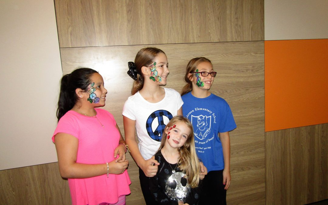 Face Painting at the Newly Remodeled South Elgin McDonald's on McLean Blvd.