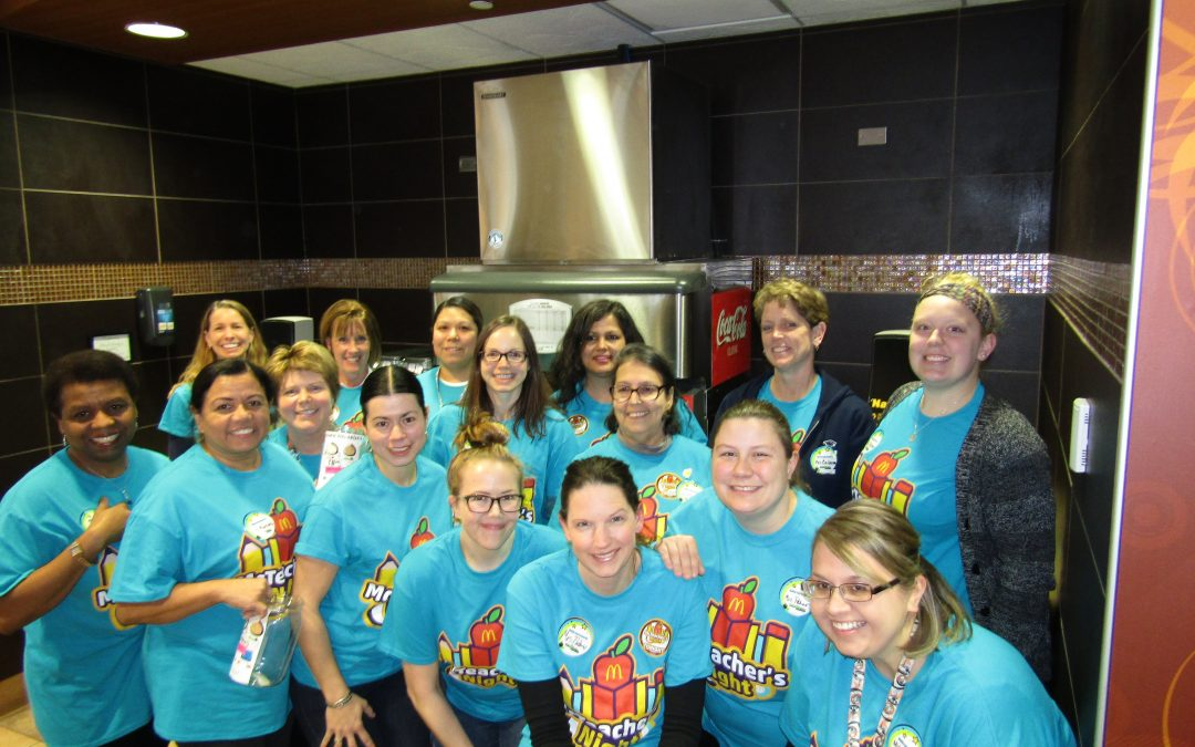 Lowrie Elementary School McTeacher's Night