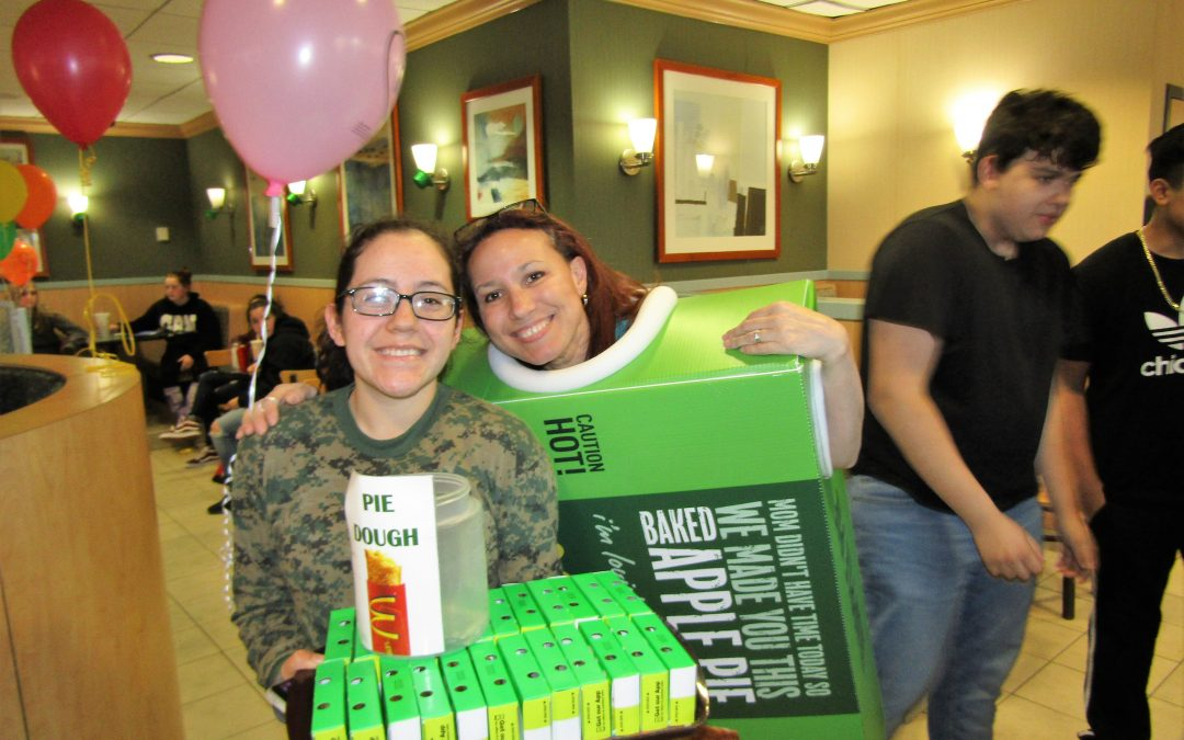 Glenbard North High Schools O.L.A.S. Holds Annual Fundraiser at McDonald's