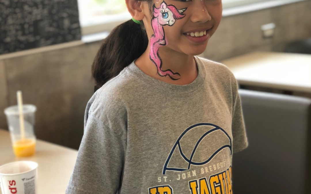 Morton Grove Face Painting 6-16-18