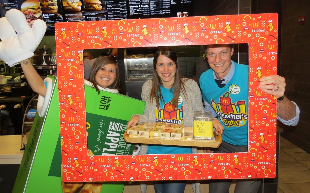 Park View McTeacher's Night 10-18-2018