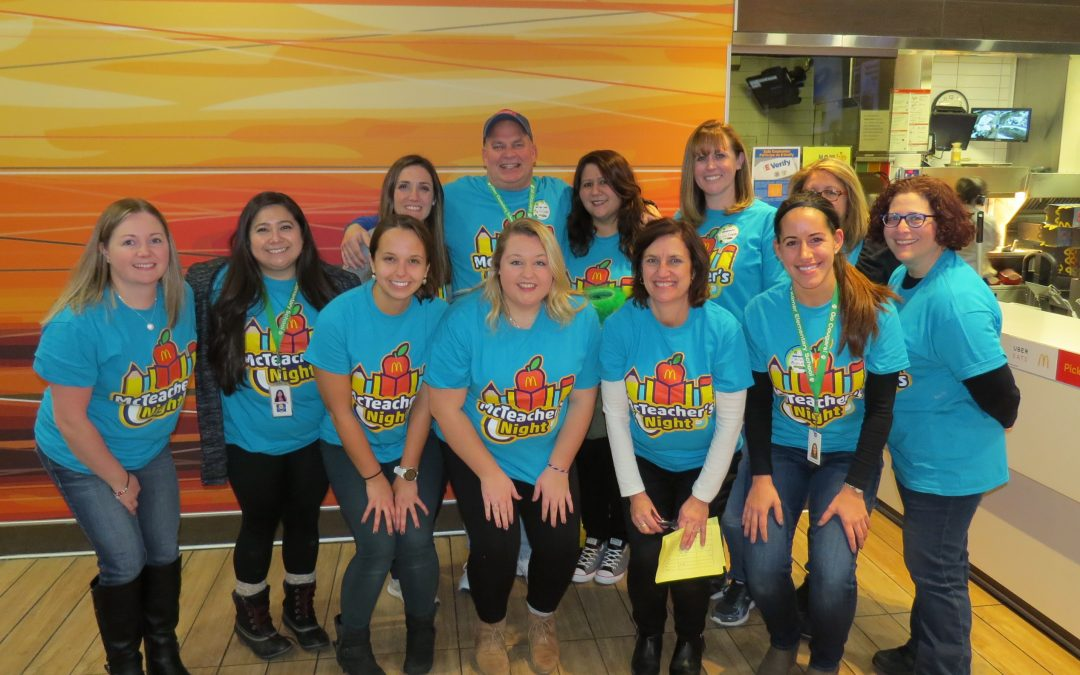 Kilmer Elementary McTeacher's Night 11-28-2018