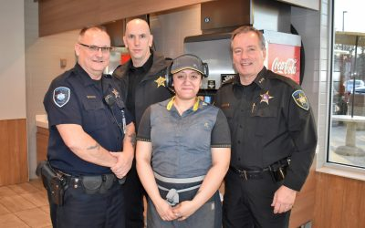Westchester Cocoa with a Cop 1/4/2019