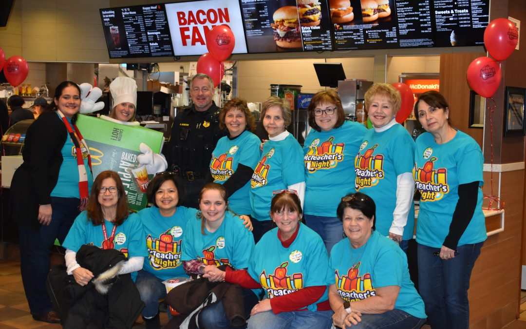 St. Thomas More School Teachers Shake Things Up at McDonald's!