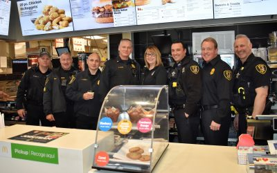 Elgin Cocoa with a Cop 2/5/2019