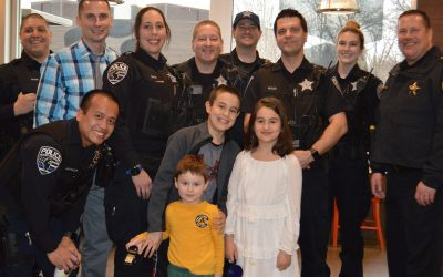 Mount Prospect Police Sweeten up The Afternoon at McDonald's
