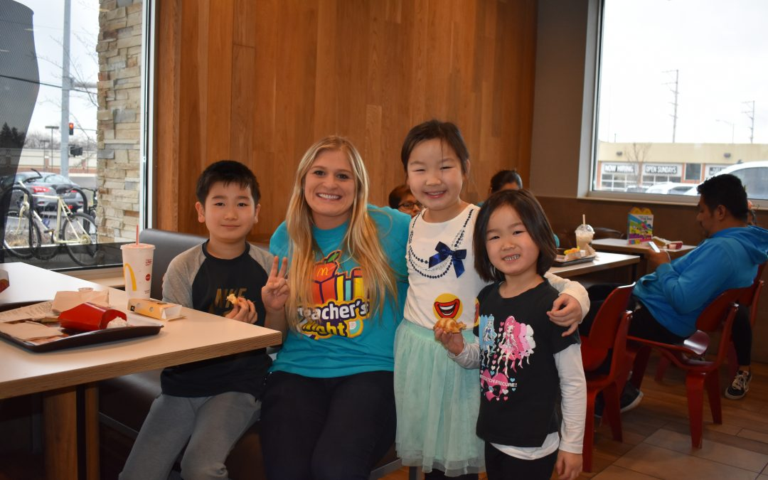 Lakeview Elementary Teachers Shake Things up at McDonald's