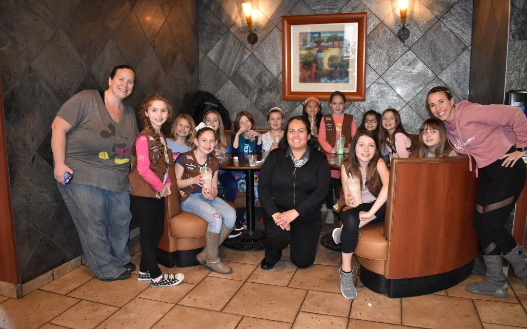 Corron Brownie Troop Takes a Tour of McDonald's