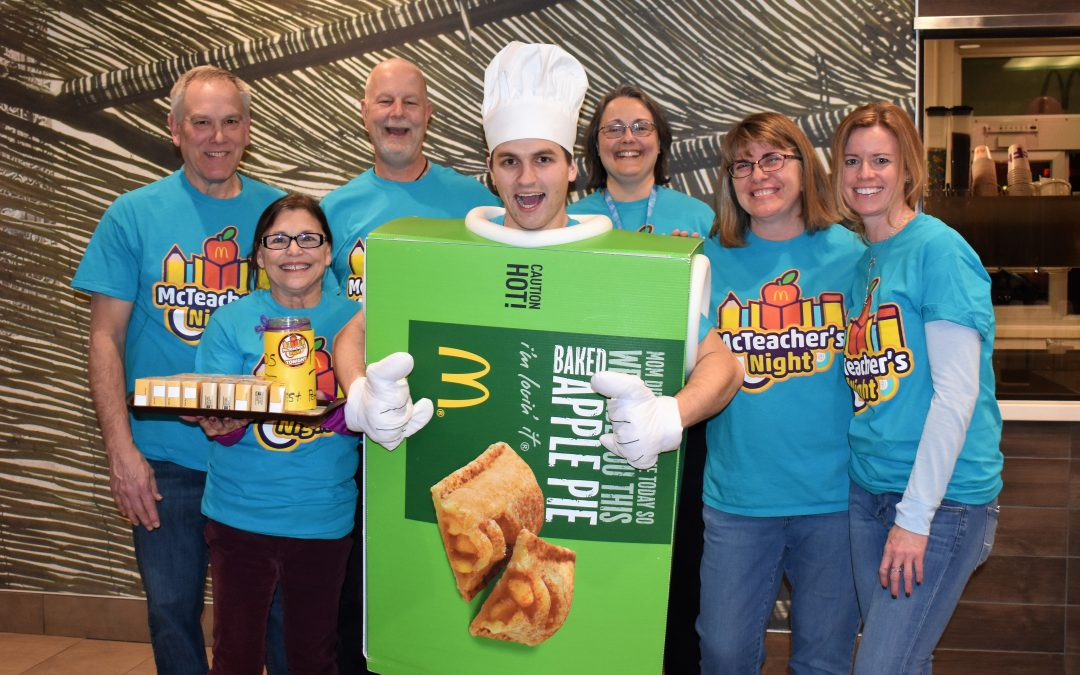 St. Peter Lutheran School Teachers Serve up a Fun Evening at McDonald's