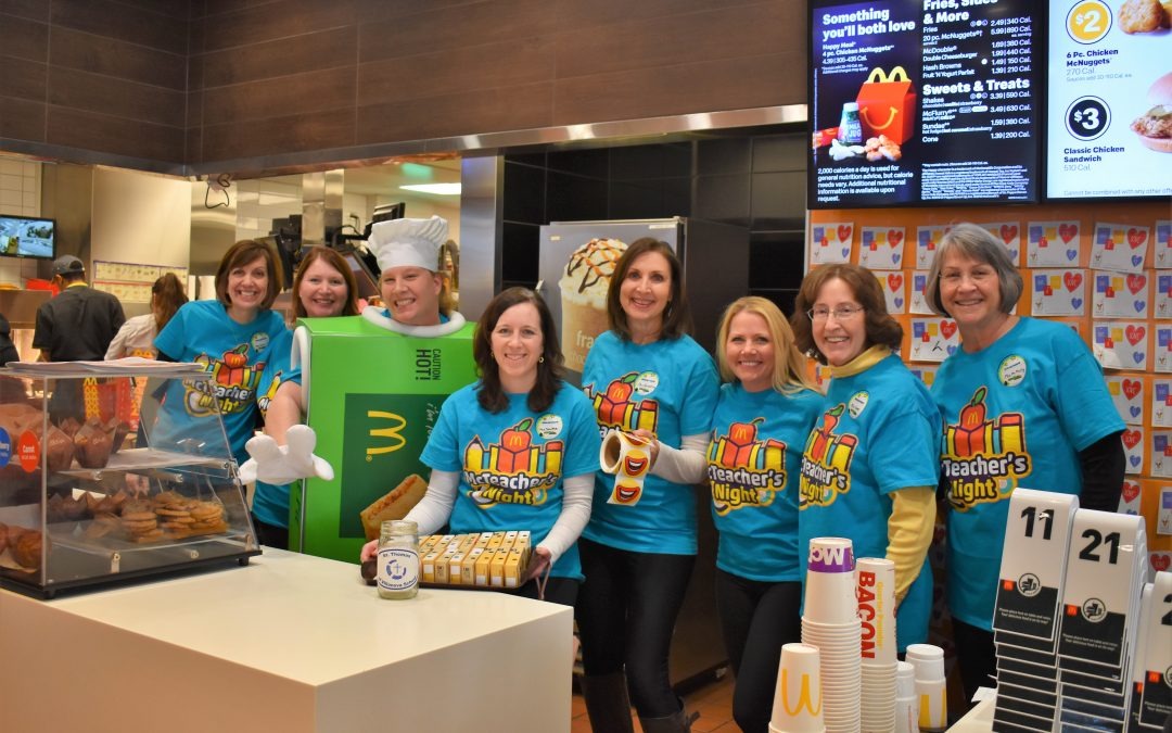 St. Thomas of Villanova Teachers Shake Things up at McDonald's
