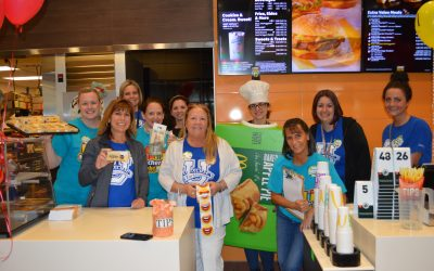 Booth Tarkington School Teachers Shake Things Up at McDonald's
