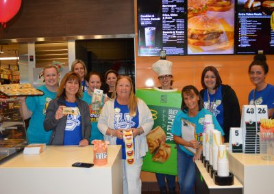 Booth Tarkington teachers ready to work hard at McDonald's.