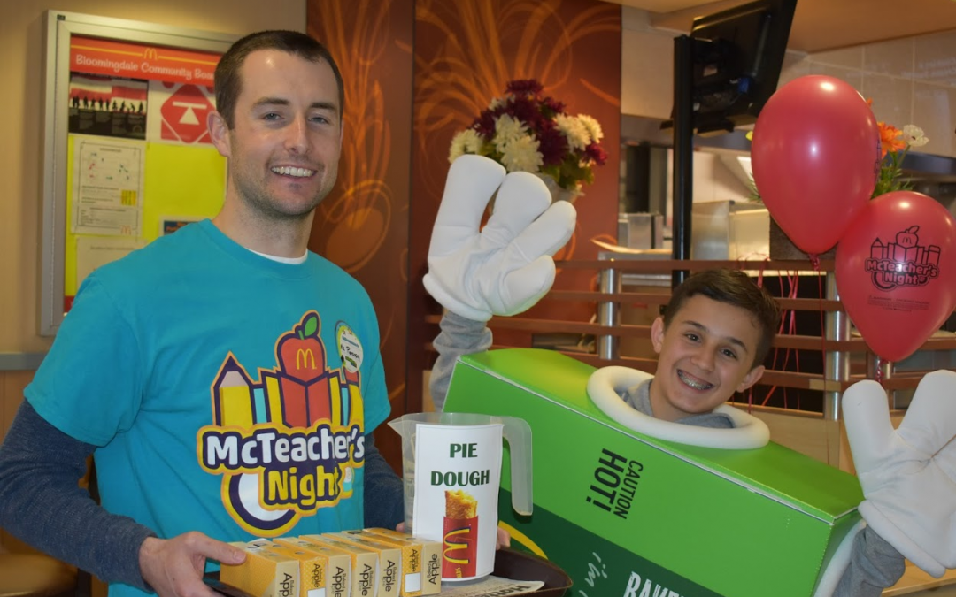 Jay Stream Middle School McTeacher Night