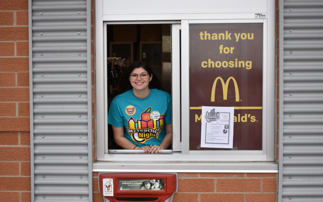 Eisenhower Teachers Serves up the Fun at McTeacher Night