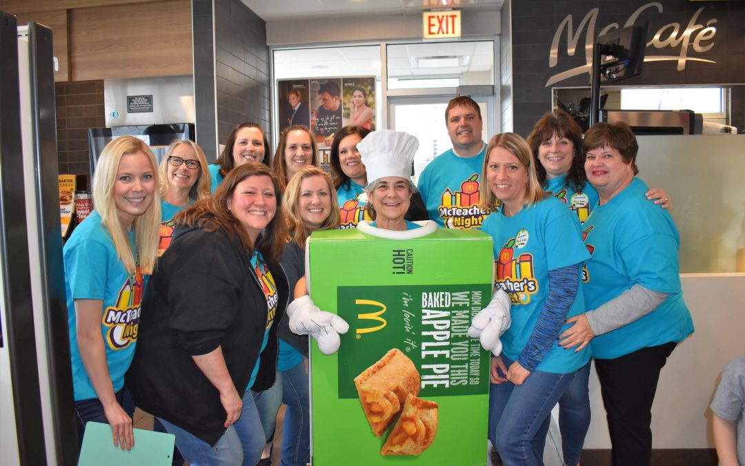Willard Teachers Shake Things Up At McDonald's