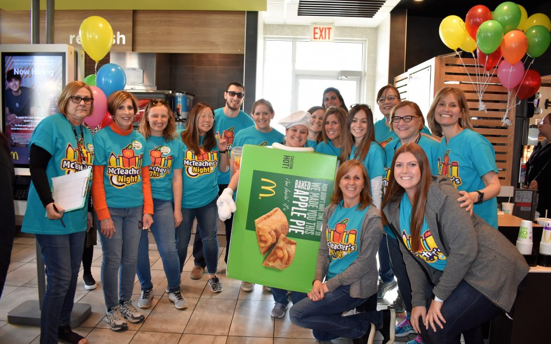 School District 102 McTeacher Night