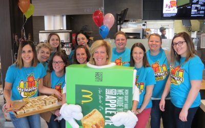 McFun at Melzer Elementary McTeacher Night
