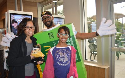 Batter up at Westchester McDonald's for WGS