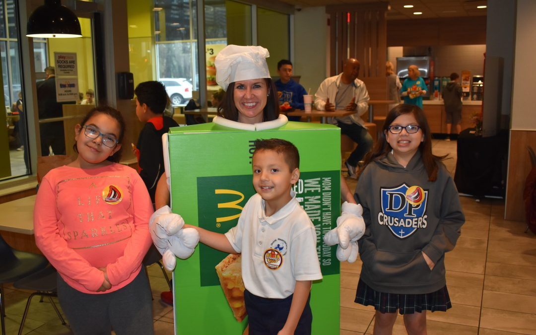 Divine Providence School McTeacher Night