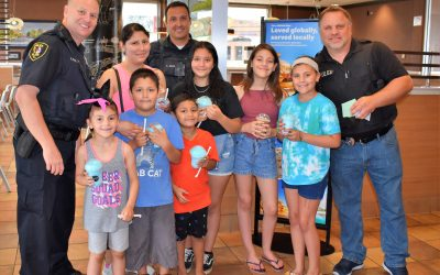 Elgin Police Serves Slushies