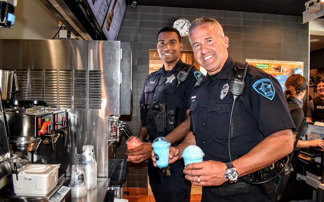 Slushie with a Sergeant in Bloomingdale