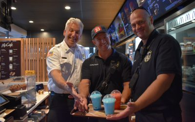 Frozen Drinks with a Firefighter Bloomingdale